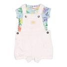 女寶寶吊帶褲套裝 吊帶短褲+短袖T恤 二件組 白熊   Carter s卡特童裝 (嬰幼兒/兒童/小孩)