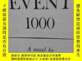 二手書博民逛書店EVENT罕見1000 A novel by DAVID LAV