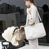 時尚媽咪包多功能大容量母嬰包單肩媽媽包斜跨外出寶媽背包孕產婦