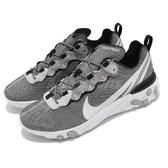 【五折特賣】Nike 慢跑鞋 React Element 55 SE 灰 白 男鞋 運動鞋 【ACS】 CD2153-100
