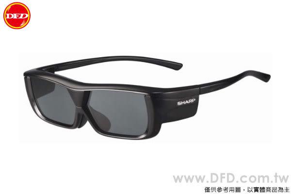 SHARP 夏普 AN-3DG20-B 3D眼鏡 充電式 黑色款 公司貨