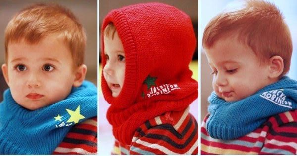 *甜蜜蜜親子童裝*百搭《星星印花款》百搭圍巾帽~圍脖帽