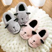 雙十二預熱 兒童居家棉拖鞋男童女童軟底防滑保暖棉鞋寶寶小孩包跟室內拖鞋冬