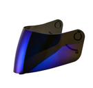 【東門城】SOL SF-3 專用電鍍鏡片 安全帽鏡片(電鍍藍)