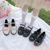 日系洛麗塔lolita厚底女鞋可愛淺口圓頭娃娃鞋小皮鞋【聚可愛】