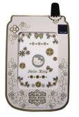 【卡漫城】Hello Kitty 鋁鑽貼 ㊣版三麗鷗 凱蒂貓 手機 平板 電腦螢幕 筆記型電腦 裝飾貼