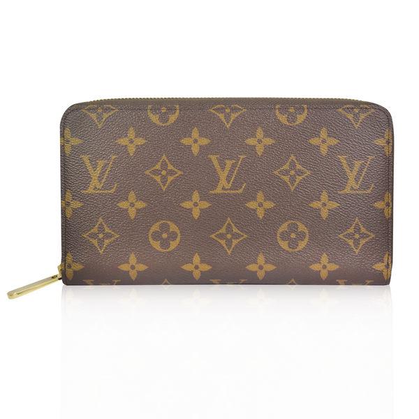 Louis Vuitton (LV) Monogram 經典LV花紋萬用拉鏈長夾 M60002  國外專櫃購入《小婷子》
