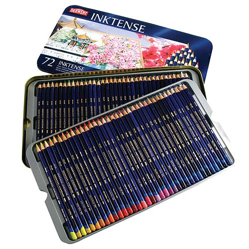 DERWENT 達爾文 水墨色鉛筆 鐵盒72色*2301843