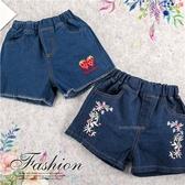 夏分花漾草莓牛仔短褲-2款(290064)【水娃娃時尚童裝】