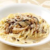 奶油野菇義大利麵套餐(附60元飲品)