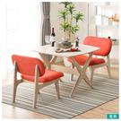 使用橡膠木材質的【RELAX】系列,溫潤圓滑的設計,呈現輕鬆居家氛圍。 。坐感舒