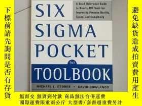 二手書博民逛書店The罕見Lean Six Sigma Pocket Toolbook【精益六西格瑪工具實踐手冊,邁克爾·L·喬治