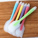 一體式矽膠全包透明蛋糕刮刀 小號/大號 矽膠刮刀 耐高溫奶油抹刀 【K124】一體成形奶油刮刀