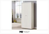 【MK億騰傢俱】BS371-02銀杉白6尺高鞋櫃