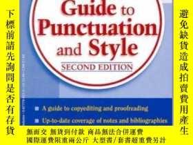 二手書博民逛書店Merriam-Webster's罕見Guide to Punc