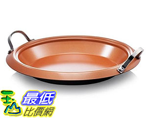 [8美國直購] 陶瓷鍋鈦合金不沾鍋  Gotham Steel Titanium and Ceramic Non-stick 12吋 All Purpose Pro Pan Copper