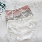 3條裝孕婦懷孕期內褲棉質抗菌透氣低腰大尺碼無痕月子產期後褲頭【全館89折低價促銷】