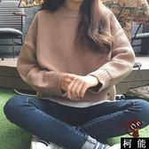 毛衣【8299】針織毛衣 韓版純色百搭毛衣 針織衫 圓領毛衣 閨蜜裝/姐妹裝 女生衣著