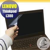 【Ezstick】Lenovo ThinkPad L380 靜電式筆電LCD液晶螢幕貼 (可選鏡面或霧面)