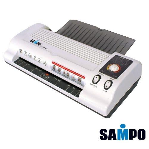 SAMPO聲寶 【A4】LY-U6A42L 13段調溫進紙口護貝機※四滾輪※另售U6A41L