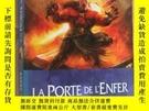 二手書博民逛書店LA罕見PORTE DE L ENFER - LA GUERRE DES DEMONS TOM II 法文原版小1