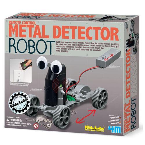 《 4M 科學探索 》金屬探測機器人 Metal Detector Robot ╭★ JOYBUS玩具百貨