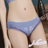 【露娜斯】夢幻奢華花漾。貼身舒適三角褲【紫羅蘭】台灣製P301