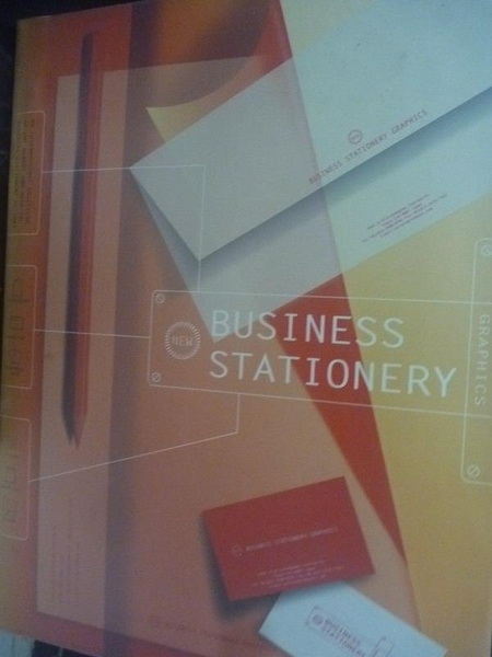 【書寶二手書T6/設計_ZIB】BUSINESS STATIONERY GRAPHICS