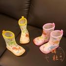 寶寶可愛卡通雨鞋防滑塑膠雨鞋【橘社小鎮】