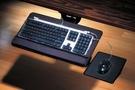 [2150]人體工學專業鍵盤架滑鼠架矽膠...