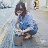 2018春裝新款女裝韓版港味襯衫配裙子兩件套chic時髦套裝裙秋百搭  巴黎街頭