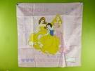 【震撼精品百貨】Disney 迪士尼公主系列~手帕-綜合公主-英文字