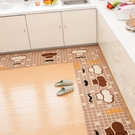 廚房地毯 地墊進門門廳門墊廚房地毯腳墊浴室防滑墊長條吸水家用墊子衛浴墊