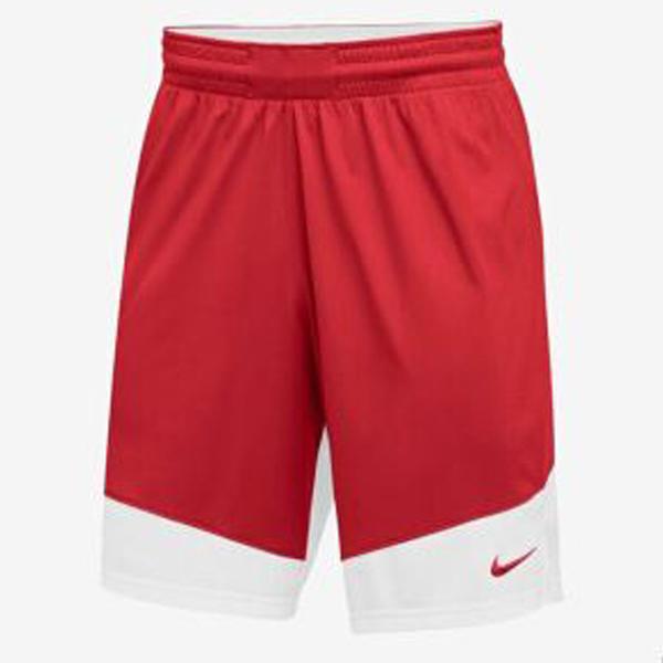 NIKE 男裝 短褲 籃球褲 單面穿 針織 透氣 紅白 【運動世界】867768-658