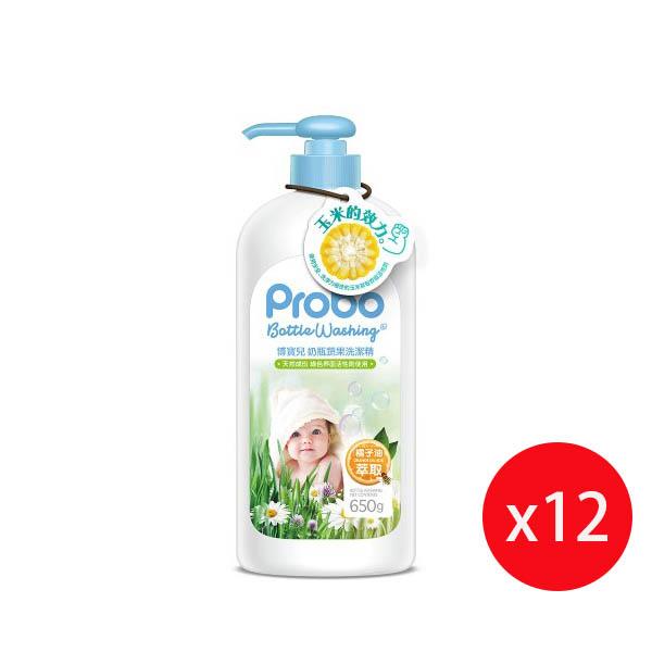 快潔適 博寶兒奶瓶蔬果洗潔精-650g*12入