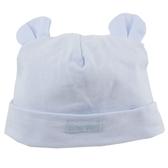 【愛的世界】熊耳反摺造型帽子/藍色-台灣製- ★用品推薦