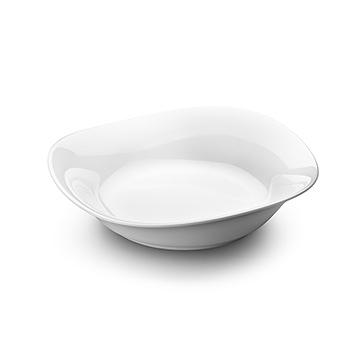 丹麥 Georg Jensen Cobra Porcelain Bowl, Medium 婀娜 白瓷流線 餐缽 / 餐碗 中尺寸