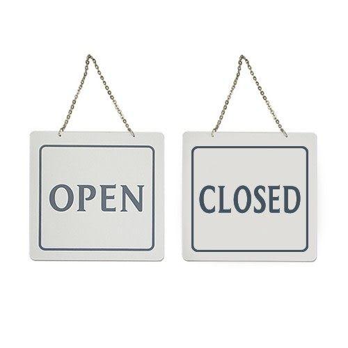 Artsign雅善OPEN/CLOSED(黑白)7901