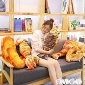 玩偶 豬蹄子大雞腿食物抱枕玩偶零食毛絨玩具搞怪韓國烤公仔 愛丫愛丫