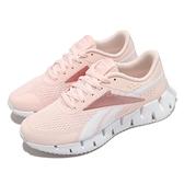 Reebok 慢跑鞋 Zig Dynamica 2.0 粉紅 白 女鞋 鋸齒鞋底設計 科技大底【ACS】 FY9948