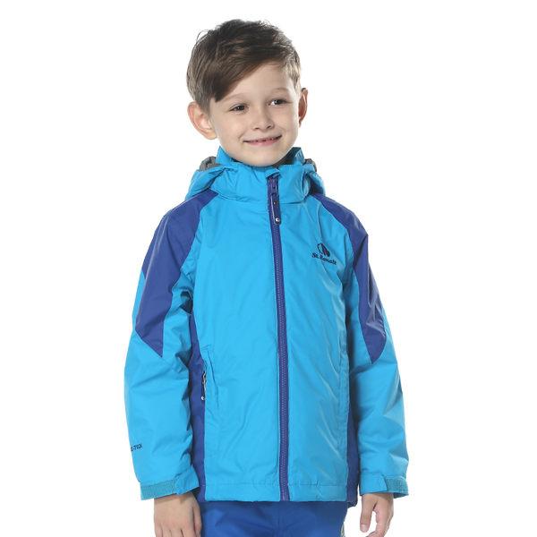 【聖伯納St. Bonalt】男中童-可拆式連帽刷毛四合一防水防風外套6159 保暖 雪服 滑雪 衝鋒衣