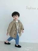 男童外套 寶寶春秋裝男1-3歲兒童防風外套洋氣韓版男童休閒風衣童裝