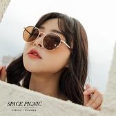 墨鏡 Space Picnic 金屬大框墨鏡(現+預)【C21033011】