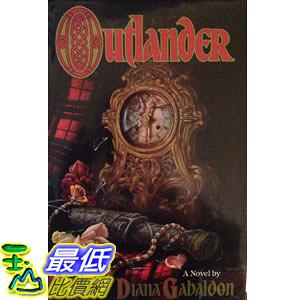 [104美國直購] 美國暢銷書排行榜 Outlander Hardcover – 1991