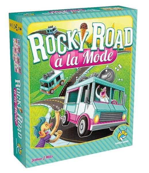 『高雄龐奇桌遊』叭噗人生 Rocky Road à la Mode 繁體中文版 ★正版桌上遊戲專賣店★