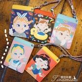 卡套-日系軟妹卡通可愛掛脖卡片包學生公交卡銀行卡套 提拉米蘇