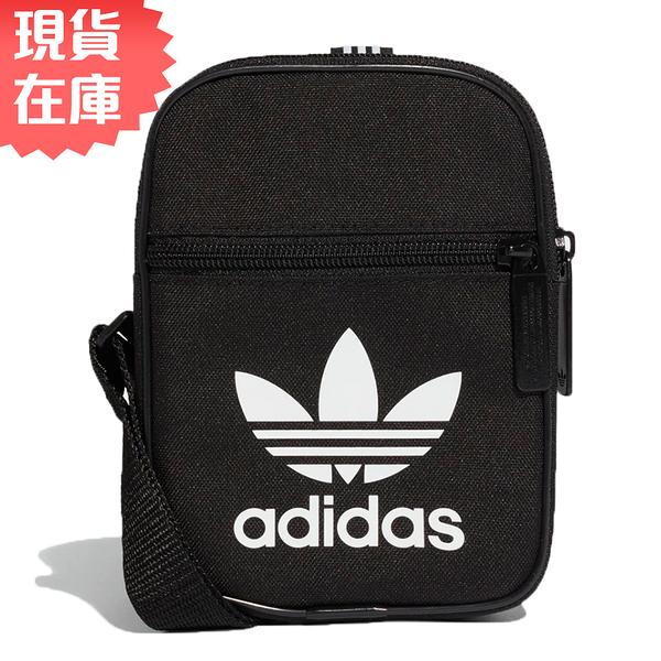 【現貨】ADIDAS TREFOIL FESTIVAL BAG 側背包 休閒 潮流 黑【運動世界】DV2405