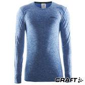 【瑞典CRAFT】男 全天候長袖內著衣『淺藍』1903716 排汗衣│慢跑衣│吸濕排汗│乾爽透氣