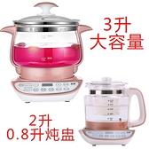 110v伏定制款 養生壺3升L 中藥壺大容量 玻璃養生湯鍋 MKS快速出貨
