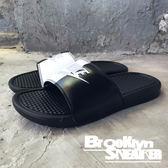 Nike Benassi JDI 黑白 陰陽  運動 拖鞋 男 (布魯克林) 2018/7月 343880-015